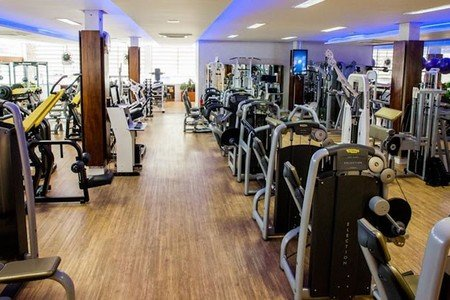 Academia Dalmo Ribeiro - Sala de musculação da Academia Dalmo Ribeiro Unidade 706 Norte