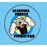 Academia Popeye Fitness Pró - logo