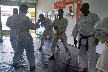 Dojô de Karatê Goju Ryu de Araripina