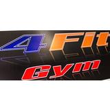 4 Fit Gym - logo