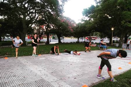 LEVEL UP FITNESS TEAM sede parque saavedra -