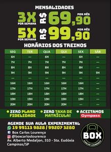 Box Carlos Lourenço