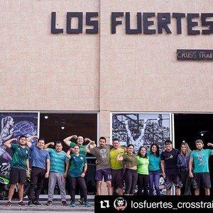 Los Fuertes Cross training -