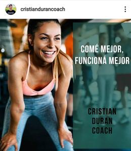 Coach Cristian Duran