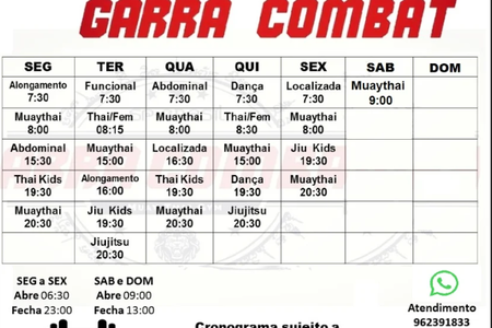 Garra Fitness Combat