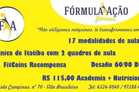 Formula Ação Fitness