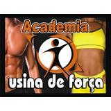 Academia Usina De Força - logo