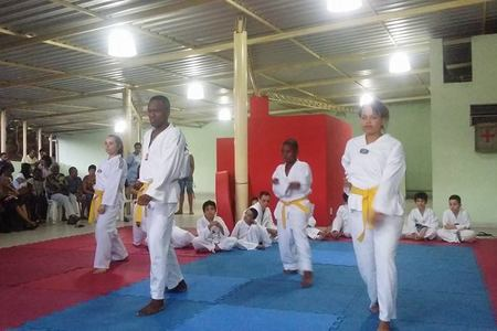 Academia Black Lions Taekwondo -