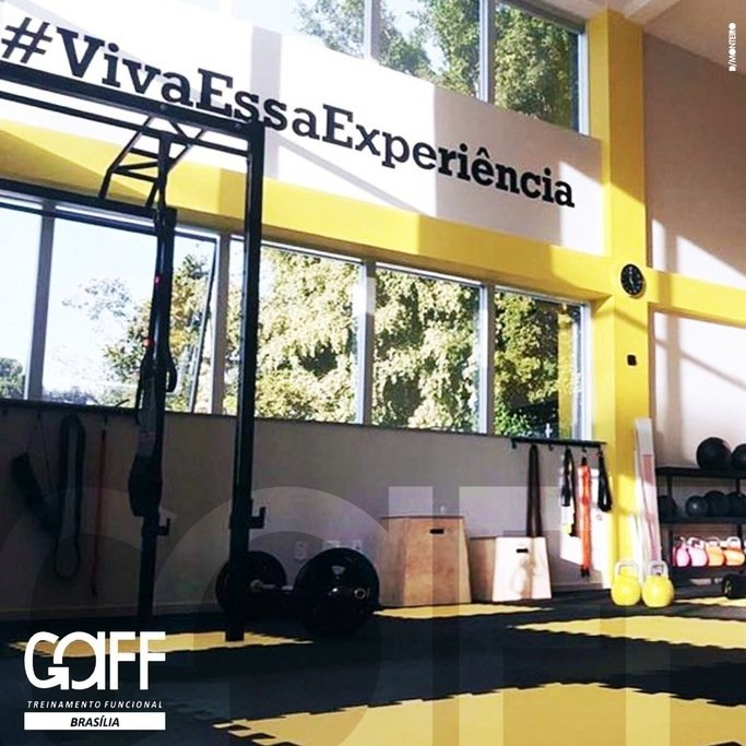 c49a33597 Academia Gaff Studio Brasília Treinamento Multifuncional – Asa Sul ...
