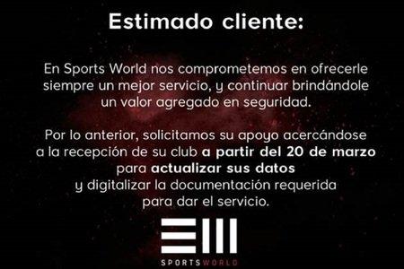 Sports World Triangulo Teca